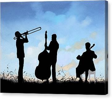 Altro Trio Canvas Print by Guido Borelli