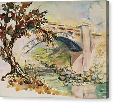 Canvas Print - Alum Rock Park California Landscape 5 by Xueling Zou