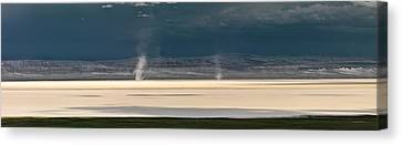Alvord Panoramic 4 Canvas Print by Leland D Howard