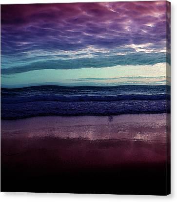 Always A Horizon Canvas Print by Bonnie Bruno
