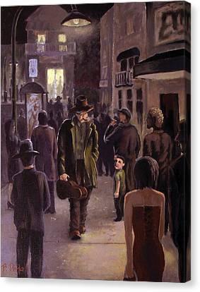 Always Another Show Canvas Print by Benjamin DeHart