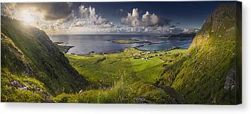 Always Greener On There Other Side Canvas Print by Iwan Groot