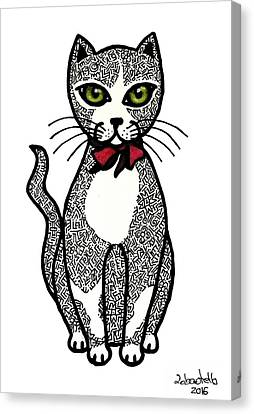 Always Looking For A Lovely Kitten Canvas Print