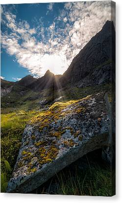 Always Sunny In Lofoten Canvas Print by Tor-Ivar Naess