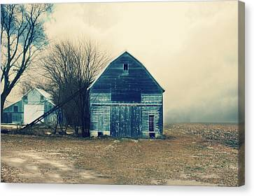 Canvas Print featuring the photograph Always Work To Do by Julie Hamilton