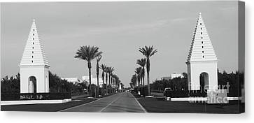 Alys Beach Entrance Canvas Print