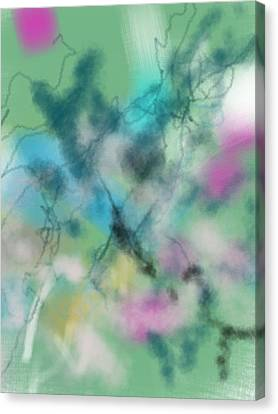 Alzheimer Work  Canvas Print