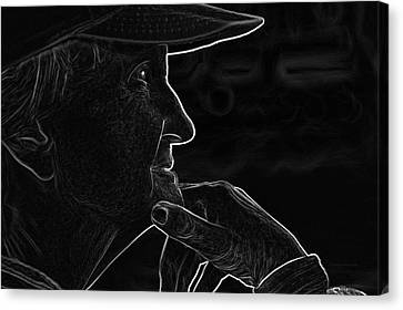 Aging Canvas Print - Alzheimer's I'm Still In Here by Thomas Woolworth