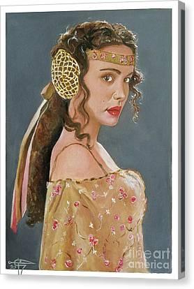 Amadala Canvas Print by Tom Carlton