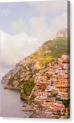 Sea Canvas Print - Amalfi Coast Italy 2 by Ariane Moshayedi