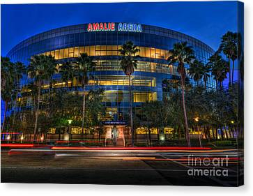 Amalie Arena 2 Canvas Print by Marvin Spates