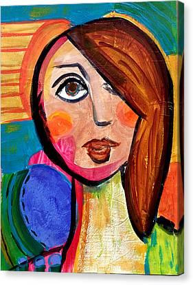 Amanda - Vivid Vixen 1 Canvas Print