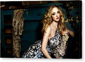 Amanda Seyfried New Canvas Print by F S