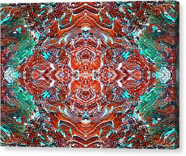 Amassed Existence Canvas Print