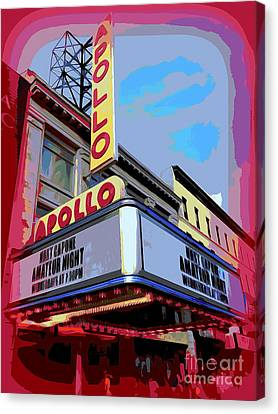 Amateur Night At The Apollo Canvas Print by Ed Weidman