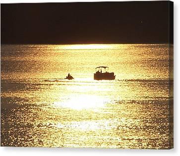 Owensboro Kentucky Canvas Print - Amazing Golden Sunset by Mike Hazelwood