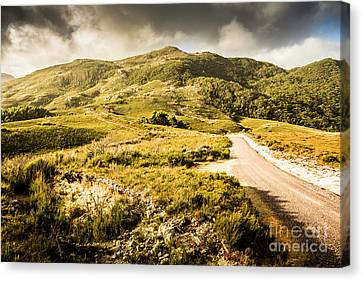 Amazing Mountains Landscape Canvas Print