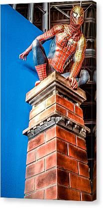 Carlos Ruiz Canvas Print - Amazing Spiderman by Carlos Ruiz
