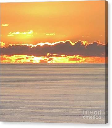 Canvas Print - Amazing Sunset by Karen Nicholson