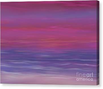 Amazing Sunset Canvas Print by Roxy Riou