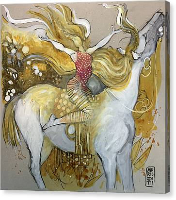 Amazone Canvas Print by Alessandro Andreuccetti