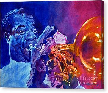 Ambassador Of Jazz - Louis Armstrong Canvas Print