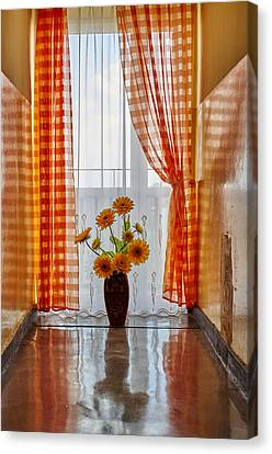 Amber View Canvas Print
