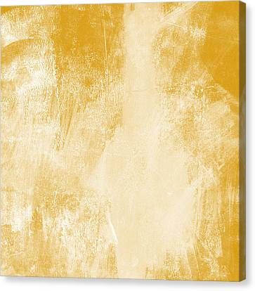 Warm Canvas Print - Amber Waves by Linda Woods