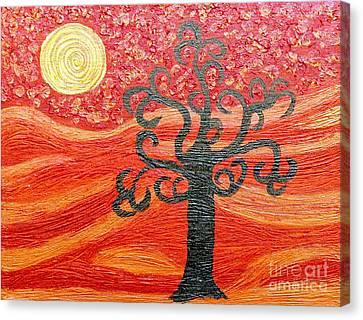 Ambient Bliss Canvas Print by Rachel Hannah