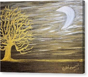 Ambient Night Canvas Print by Rachel Hannah