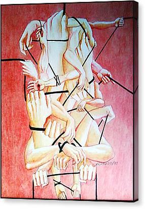 Ambition Canvas Print by Paulo Zerbato