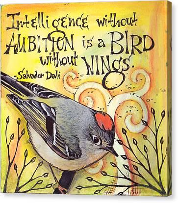 Ambition Canvas Print - Ambition by Vickie Hallmark