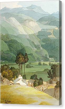 Ambleside Canvas Print by Francis Towne