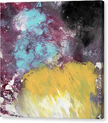 Ambrosia 5- Abstract Art By Linda Woods Canvas Print by Linda Woods