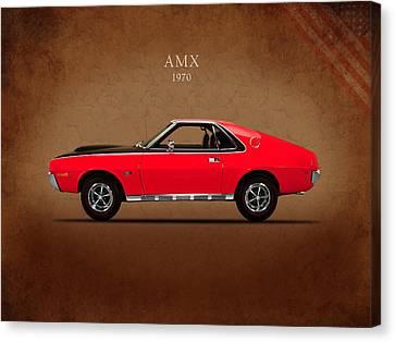 Amc Amx 1970 Canvas Print