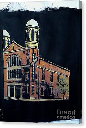 Ame St. James Church Canvas Print by Tyrone Hart