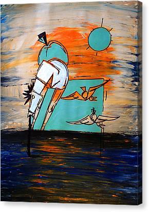 Ameeba- Horse 1 Canvas Print
