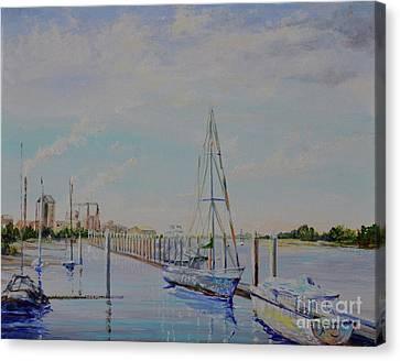 Amelia Island Port Canvas Print