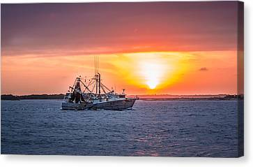 Amelia River Sunset 25 Canvas Print by Rob Sellers
