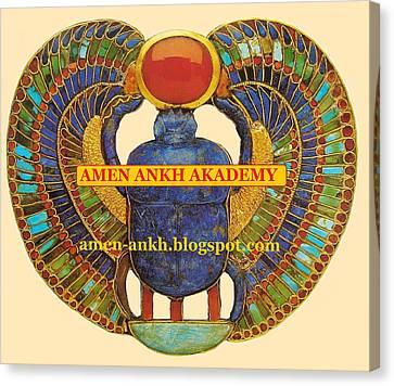Amen Ankh Akademy Canvas Print