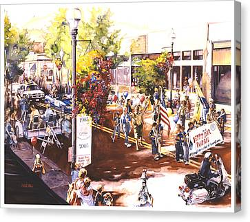 America At Its Best Canvas Print by Mike Hill