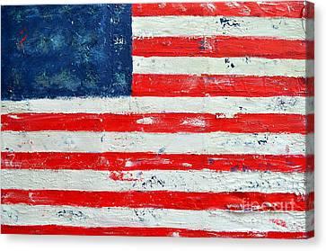 America Canvas Print by Nicky Dou