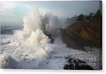 America The Beautiful 2 Canvas Print by Bob Christopher