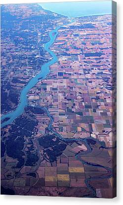 Terra Firma Canvas Print - American Agriculture by Molly Marshall