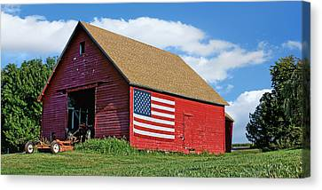 American Barn #2 Canvas Print by Nikolyn McDonald