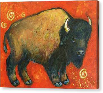 American Bison Canvas Print by Carol Suzanne Niebuhr