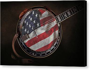 American Bluegrass Music Canvas Print by Tom Mc Nemar
