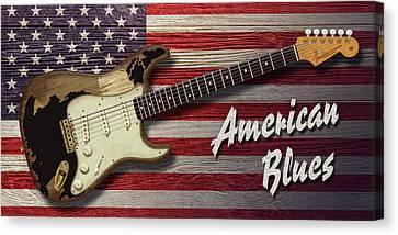 American Blues Canvas Print by WB Johnston