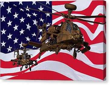 American Choppers Canvas Print