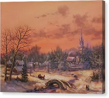 American Classic Canvas Print by Tom Shropshire